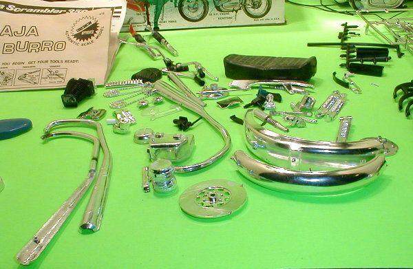 Harley Davidson Honda 750 + Parts Lot Box Full Motorcycle Junk