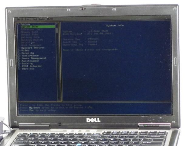 Dell Latitude D630 Core 2 Duo 2.00GHz 4096MB Laptop with AC Adapter