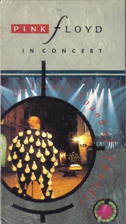 VHS PINK FLOYD IN CONCERTDELICATE SOUND OF THUNDER