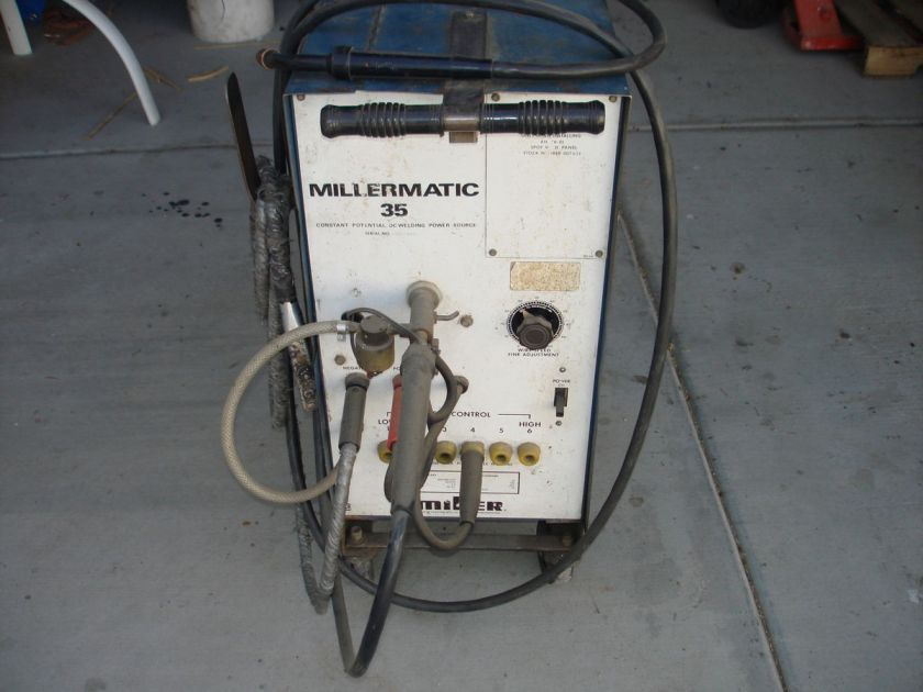 Miller welder millermatic 35 wire feed welder - Webaccess leroymerlin fr ...