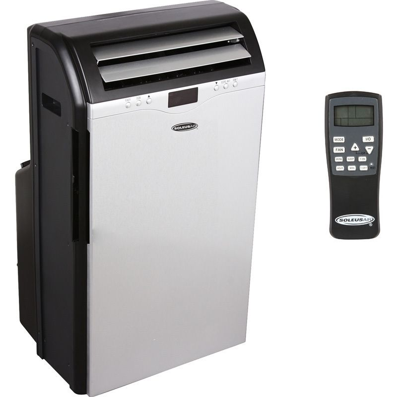 Portable AC, Air Conditioner + Heat Pump, 13K BTU Dual Hose Compact A
