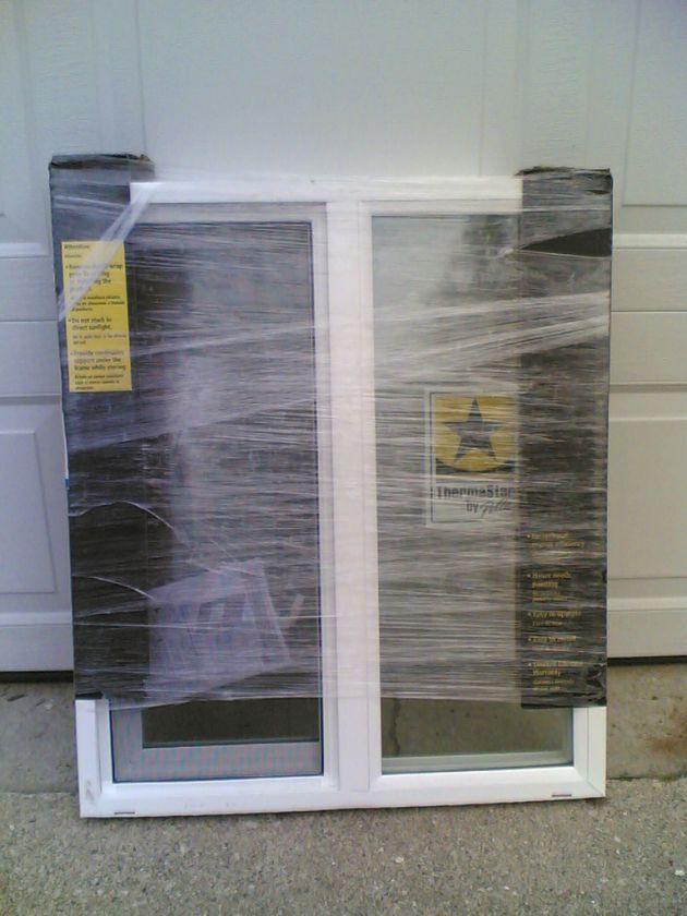 BRAND NEW Nice White VINYL House SLIDER WINDOW 25x29