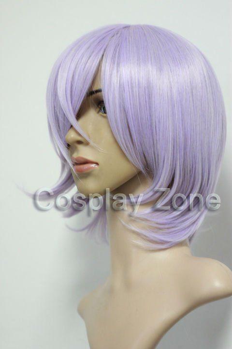 2011 NEW High Quality Un Go Inga Brack Cosplay Wig light purple + free